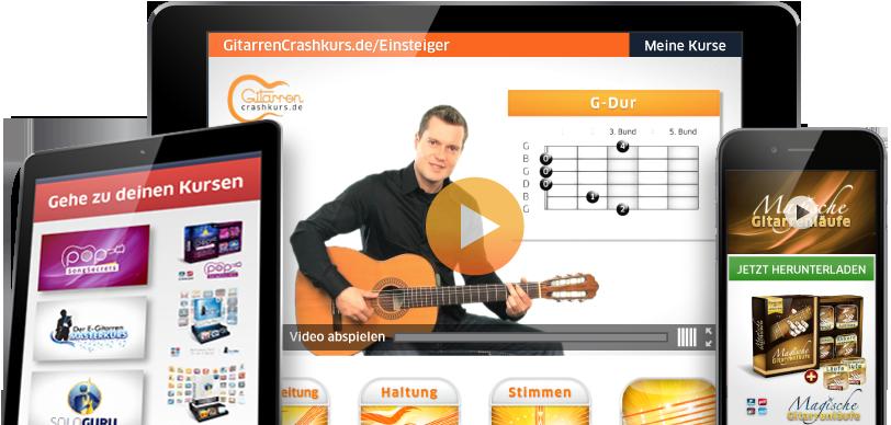 Gitarre Lernen in 4 Wochen mit Georg Norberg